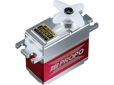 JR Propo Servo DS6301 0.17sec/60° 33 kg 2BB 7.4V Alugehäuse