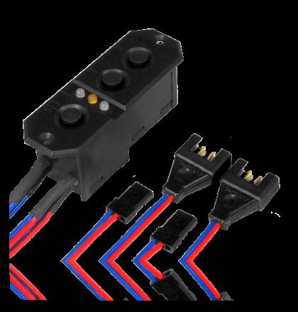 Powerbox Sensor Akkuweiche JR/MPX 5,9 oder 7,4 Volt